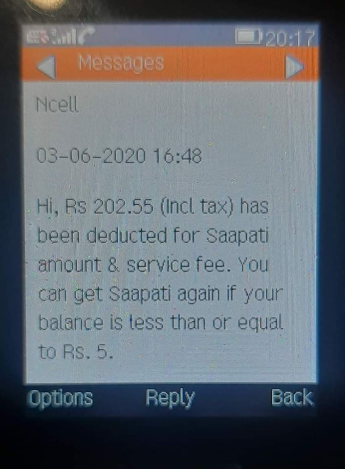 Ncell's looting in Lockdown