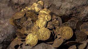 1100-year-old gold coin was found