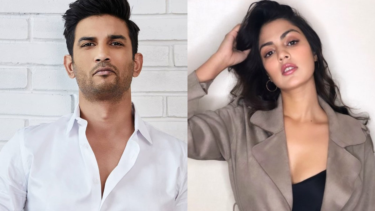 In the question asked, Riya mentioned the names of Sushant's two enemies