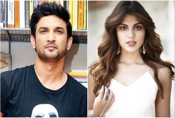 What was Riya doing after sitting with Sushant's body in the morgue for 45 minutes?