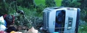 High accident in Baitadi 11 injured, 2 in critical condition